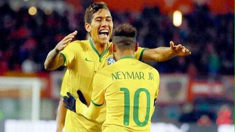 Brazil trong nỗi nhớ tiền đạo giỏi