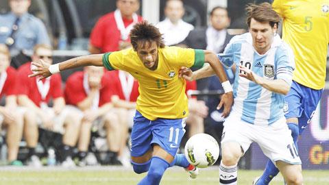Neymar vs Messi: Bục vinh quang chỉ có chỗ cho một người