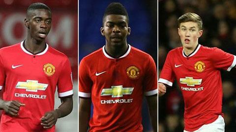 5 gương mặt trẻ triển vọng của M.U