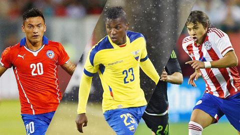5 cầu thủ có thể là hiện tượng tại Copa America 2015