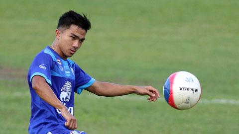 'Messi Thái' Songkrasin: 'Chúng tôi muốn có ngôi đầu bảng'