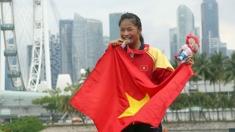 Trương Thị Phương: VĐV trẻ nhất giành HCV của Đoàn TTVN