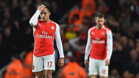 Sanchez thất vọng với mùa giải đầu tiên khoác áo Arsenal