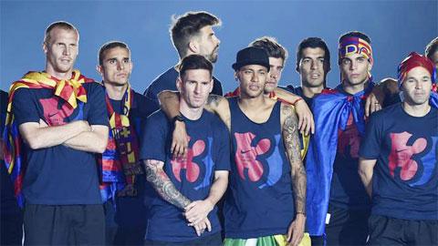 UEFA công bố 18 cầu thủ xuất sắc của Champions League: Barca chiếm 10 suất
