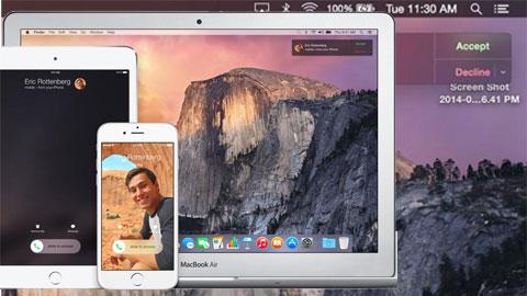 iPhone quên ở nhà, vẫn gọi điện được từ iPad và Mac ở nơi làm việc
