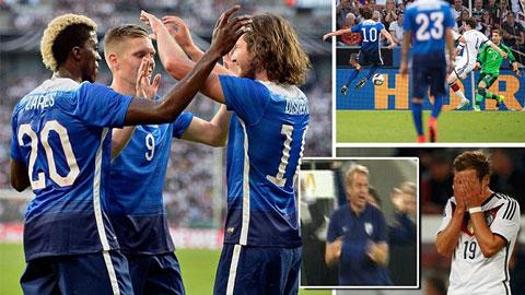 Những điều rút ra sau trận thua của ĐT Đức trước ĐT Mỹ
