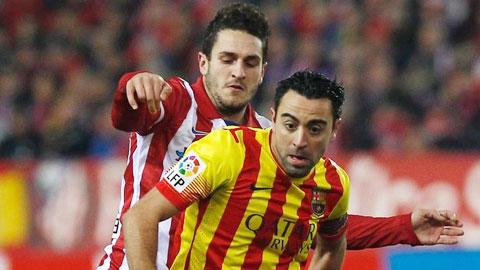Barca từng muốn mua Koke để thay Xavi