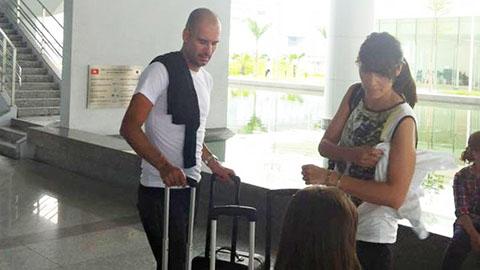 Gia đình HLV Guardiola dự định khám phá vẻ đẹp Việt Nam
