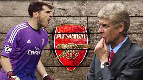 Bỏ qua Cech, Arsenal ưu tiên chiêu mộ Casillas