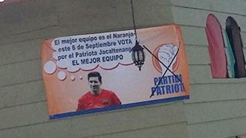 Messi tranh cử nghị viện tại… Guatemala!?