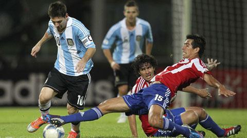 04h30 ngày 14/6, Argentina vs Paraguay: Thổi bùng điệu Tango