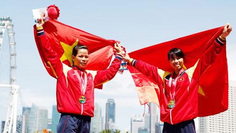 Phạm Thị Huệ giành 3 HCV Rowing: Hat-trick của bà mẹ… 9x