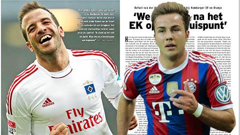 Goetze và Van der Vaart là những cầu thủ kém cỏi nhất Bundesliga 2014/15
