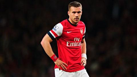 Arsenal bán Podolski cho Galatasaray với giá siêu rẻ