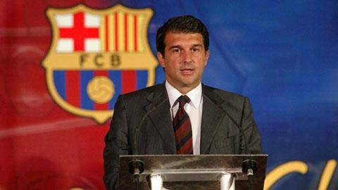 Laporta tái tranh cử ghế chủ tịch Barca