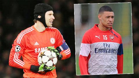 Arsenal nhượng Ox-Chamberlain Chelsea mới nhả Cech