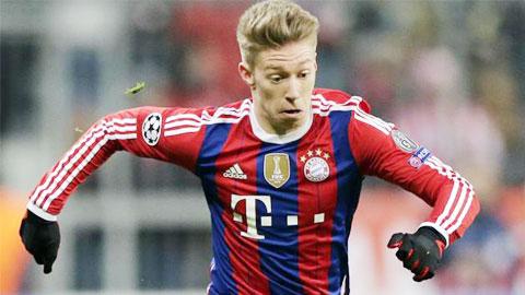 Không có đất dụng võ, sao trẻ Bayern đầu quân cho Hertha Berlin