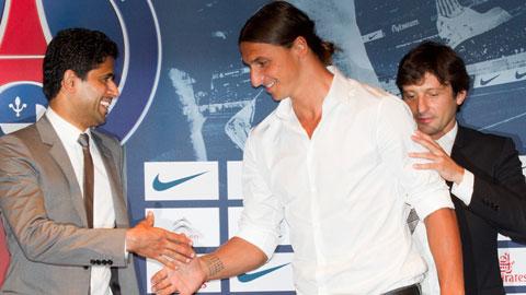 Ibrahimovic sang Qatar gặp chủ tịch PSG bàn về tương lai: Khi ta cần nhau