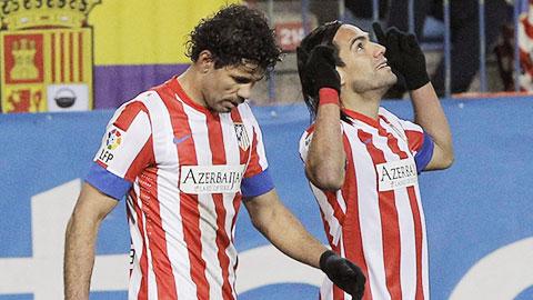 Falcao tái ngộ Costa: Người xưa, cảnh mới