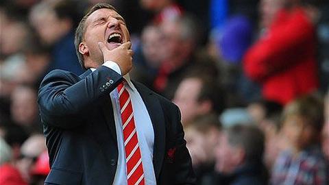 Lịch đấu khắc nghiệt của Liverpool sẽ 'hất cẳng' Rodgers?