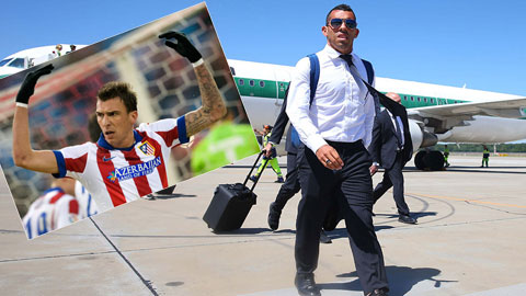 Juventus chấp nhận buông Tevez