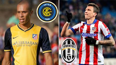 Mandzukic sắp gia nhập Juventus, Inter trả giá Miranda 15 triệu euro