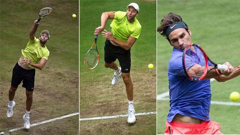 Phá kỷ lục giao bóng, Karlovic đụng 'tàu tốc hành' Federer ở bán kết tại Halle