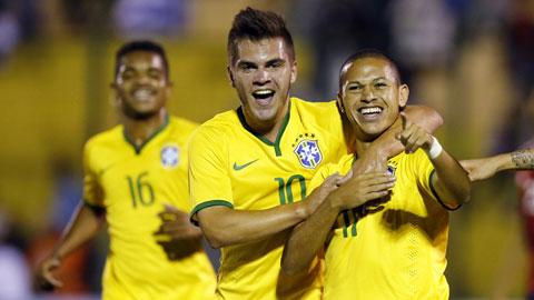 12h00 ngày 20/6, U20 Brazil vs U20 Serbia: Kỷ lục chờ vũ công Samba
