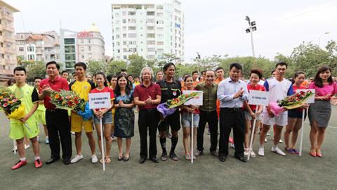 Giải bóng đá phóng viên Việt Nam lần đầu được tổ chức