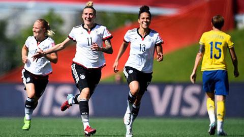 World Cup nữ 2015: Trung Quốc, Đức vào tứ kết