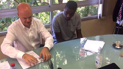 Kondogbia từ chối Barca, Milan để tới Inter