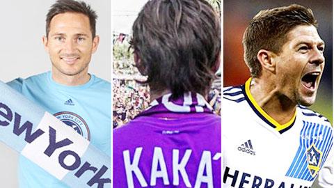 Lampard, Gerrard chưa 'nặng đô' bằng Kaka