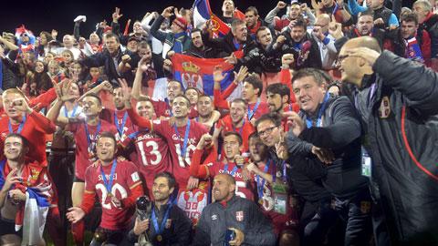 """Serbia giành danh hiệu đầu tiên trong lịch sử: Mơ về """"Thế hệ vàng"""""""