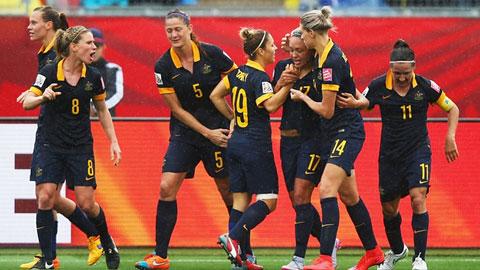 Vòng 1/8 World Cup nữ: Australia bất ngờ quật ngã Brazil, Pháp sẽ đụng độ Đức ở tứ kết