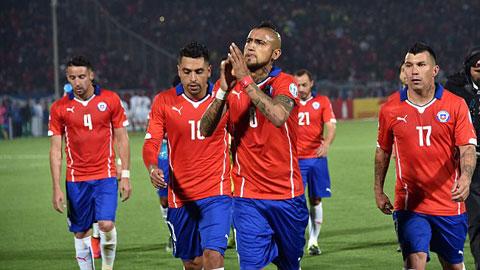 Vidal dành toàn bộ tiền thưởng ở Copa America 2015 để làm từ thiện