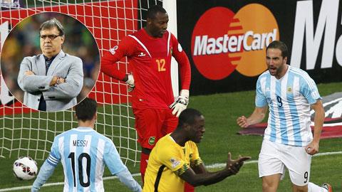 Hàng công 'siêu khủng' của Argentina thi đấu rời rạc: Bài toán khó cho Martino
