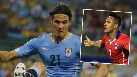 Edinson Cavani vs Alexis Sanchez: Đã đến lúc đẳng cấp lên tiếng