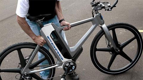 MoDe:Flex – Xe đạp điện gấp thông minh kết nối smartphone