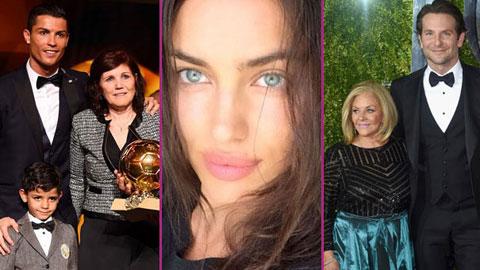 Irina Shayk lại 'mất điểm' trong mắt mẹ của bạn trai