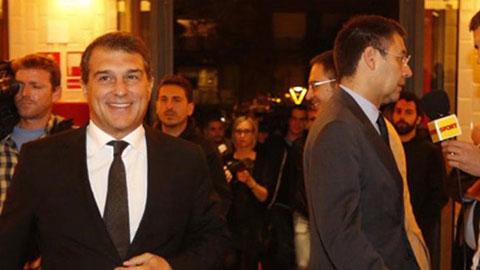 Cuộc đua đến ghế chủ tịch Barcelona: Laporta dìm Bartomeu