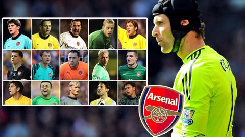 Trước Cech, ai là 'găng tay vàng' của Wenger?