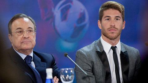 2,5 triệu euro, khoảng cách vời vợi để giữ chân Ramos
