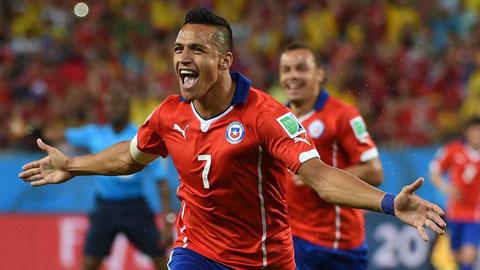 Chile vào bán kết Copa America 2015: Sẵn sàng thách thức tất cả