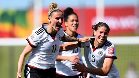 03h00 ngày 27/6, Đức vs Pháp: Đẳng cấp các cô gái Đức (nữ)
