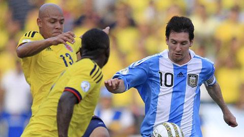 ĐT Colombia: 6 sơ đồ để chặn Messi