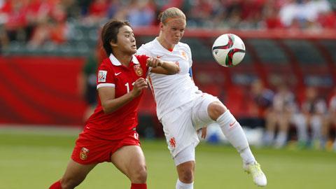 06h30 ngày 27/6, Mỹ vs Trung Quốc: Trung Quốc lép vế (nữ)