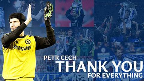 Cech viết tâm thư chia tay Chelsea sau 11 năm ý nghĩa
