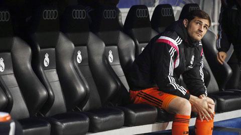 Casillas hết đường đến AS Roma