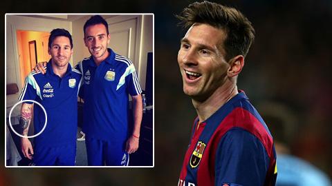 Ý nghĩa sâu sắc của hình xăm hoa sen trên tay Messi