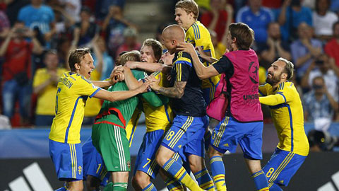 Hạ Bồ Đào Nha sau loạt 'đấu súng', Thụy Điển vô địch giải U21 châu Âu
